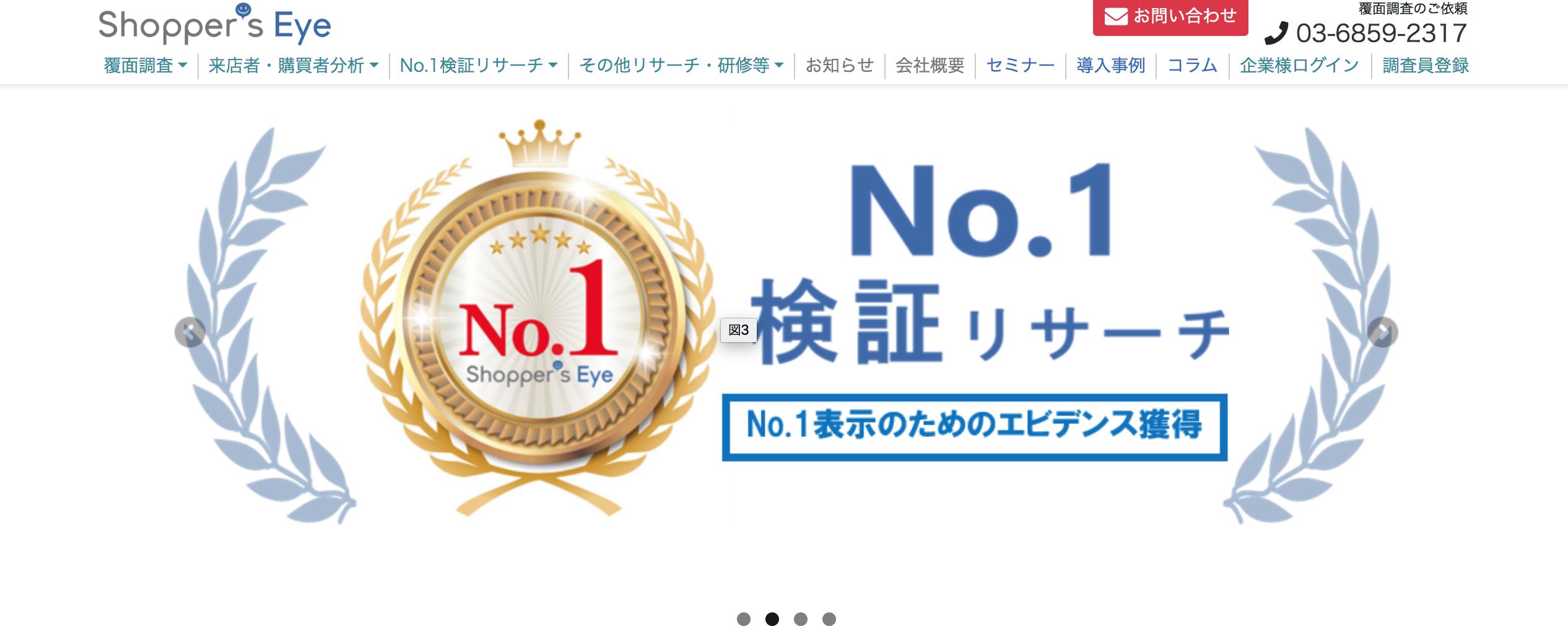ショッパーズアイ_サイトtop
